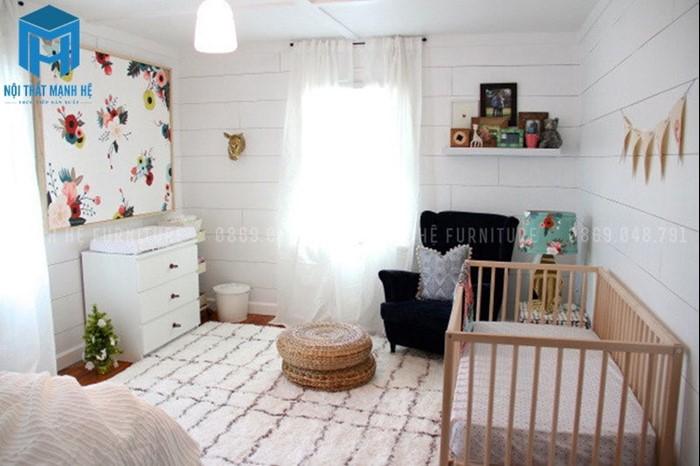 Dọn dẹp phòng ngủ của bé thường xuyên. (Nguồn internet)