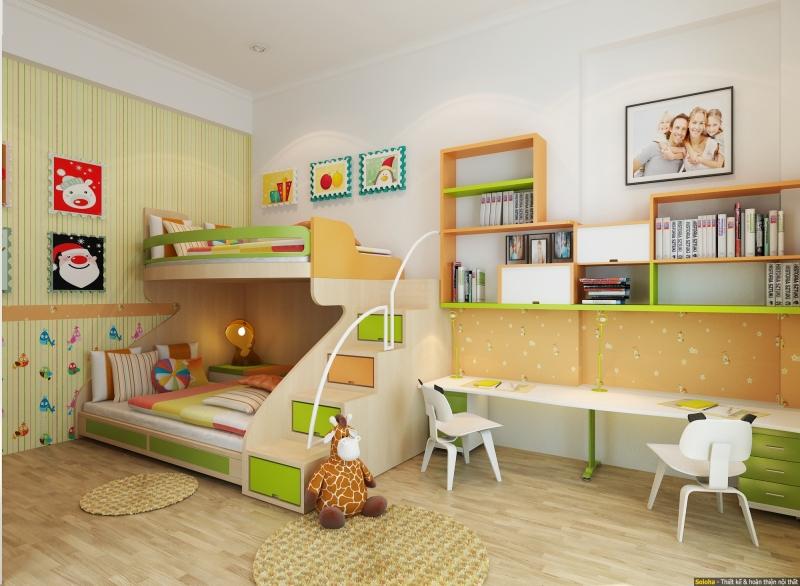 Căn phòng sạch sẽ giúp hạn chế các vi khuẩn có hại.