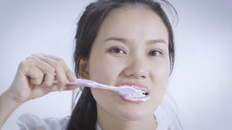 Đánh răng 2 lần trên ngày