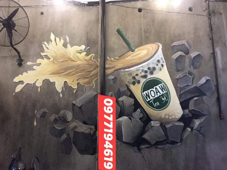 Vẽ Tranh Tường Nghệ Thuật