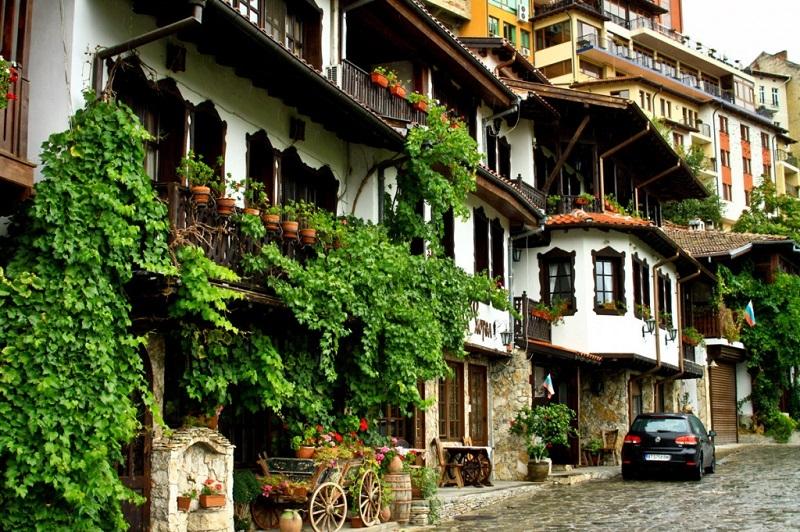 Một góc nhỏ ở Veliko Tarnovo, Bulgaria
