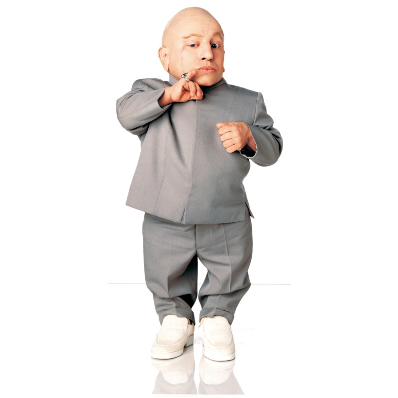 Vai diễn Mini-Me của Verne Troyer trong phim Austin Powers: International man of mystery