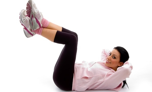 Bài tập này giúp đốt cháy calo vùng bụng, săn chắc đùi và bắp chân