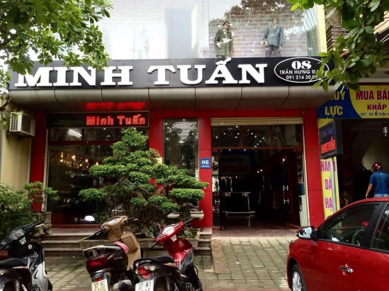 Thương hiệu Vest Minh Tuấn
