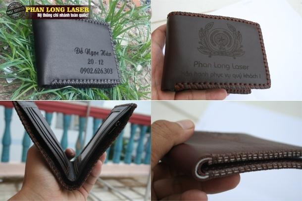 Mẫu ví nam được thiết kế bởi Ví da Sài Gòn