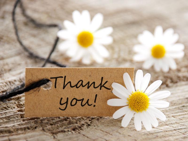 Học cách cảm ơn từ những điều nhỏ nhất