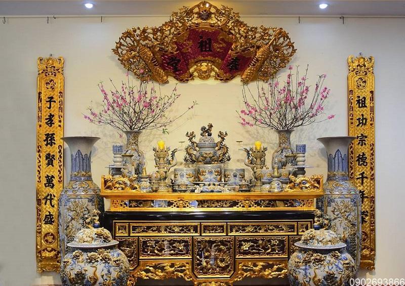 Vị trí bài trí bàn thờ gia tiên