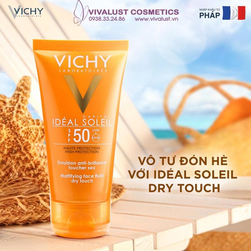 khả năng đánh bật tia UV của kem chống nắng Vichy Ideal Soleil cực tốt, gần đạt đến mức tối đa.