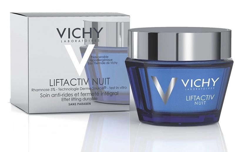 Liftactiv Nuit với kết cấu kem đặc, mang đến khả năng cung cấp độ ẩm khá lớn cho làn da vào ban đêm