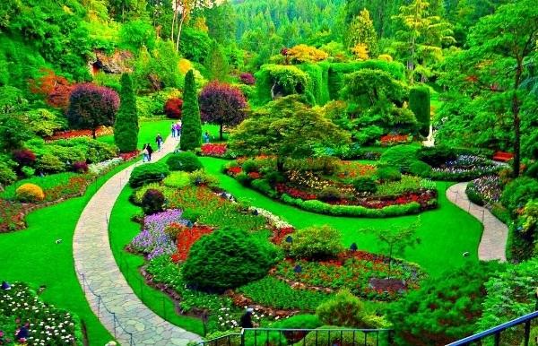 Một khu vườn như truyện cổ tích của Victoria.