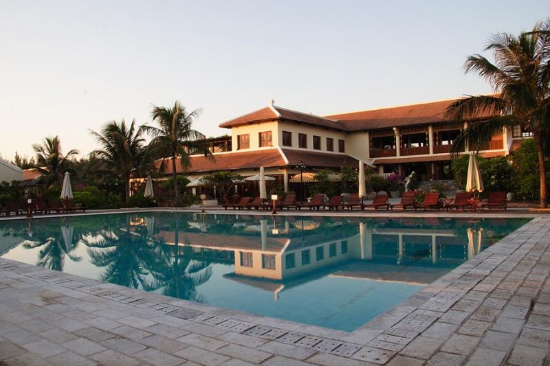 Victoria Hội An Beach Resort & Spa nằm ngay bãi biển Cửa Đại