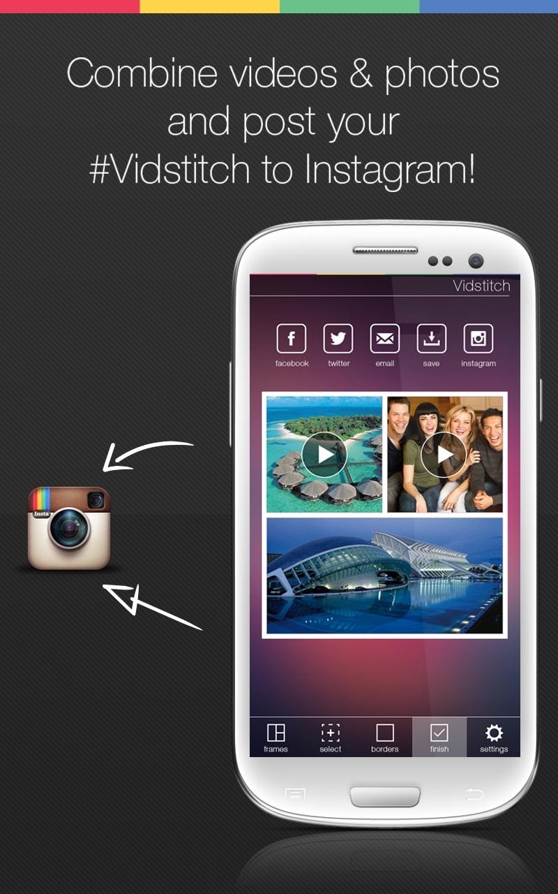 Dễ dàng chia sẻ trên Instagram