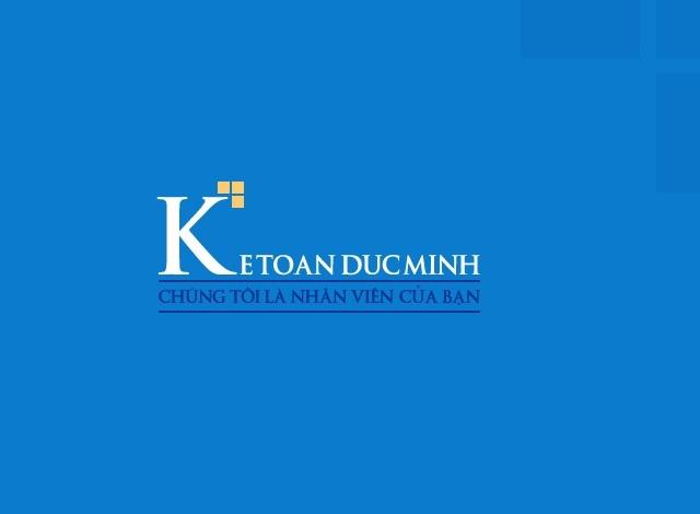 Logo viện đào tạo kế toán, tin học Đức Minh