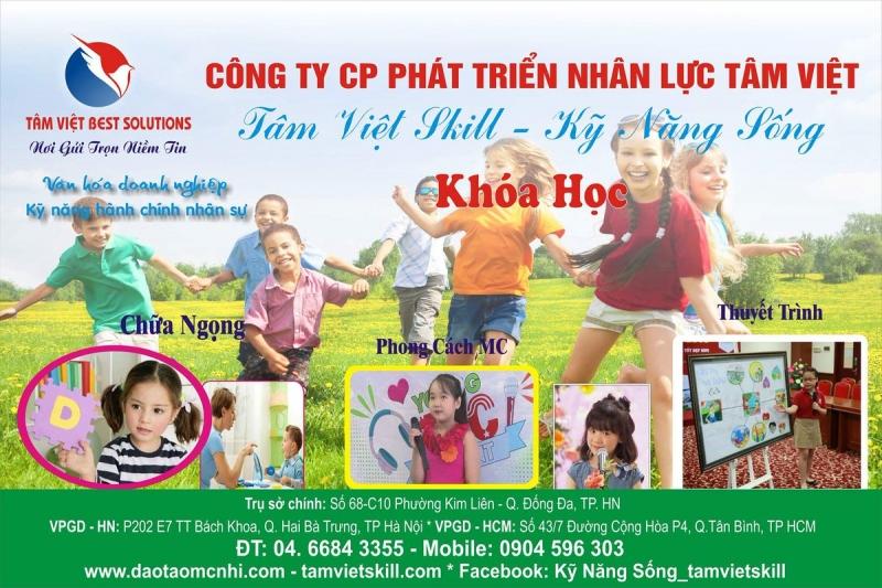 Viện đào tạo kỹ năng mềm Tâm Việt