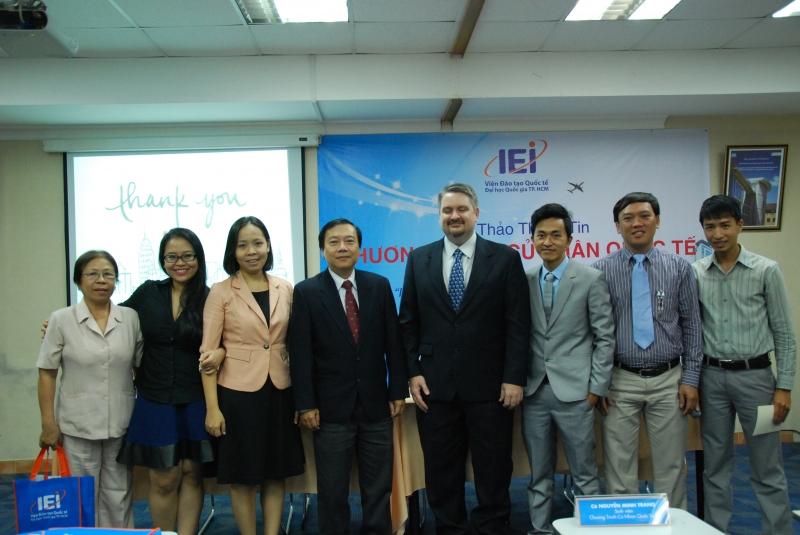 Hội thảo thông tin cử nhân quốc tế tại Viện đào tạo Quốc tế IEI