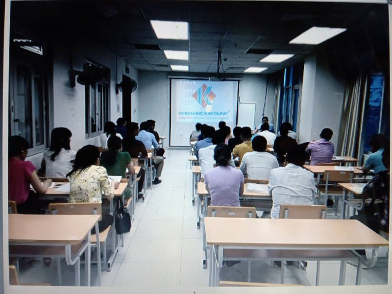 Một trong những giờ học trong khóa học.