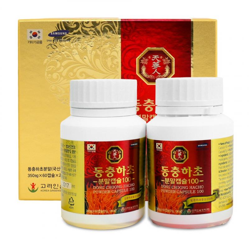 Đông trùng hạ thảo dạng viên Dongchoonghacho Power Capsule được ra đời nhằm giúp con người chăm sóc khỏe một cách tốt nhất.