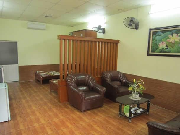 Không gian phòng ngủ 2 người tại viện dưỡng lão Thiên Đức