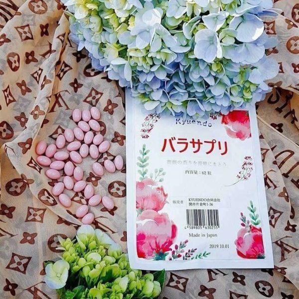 Viên hoa hồng thơm cơ thể Kyuendo