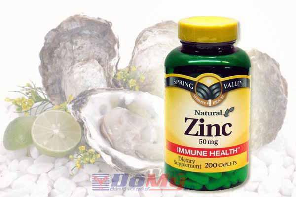 viên kẽm Zinc 50mg 200 viên - thực phẩm chức năng bổ sung kẽm thiết yếu cho cơ thể.