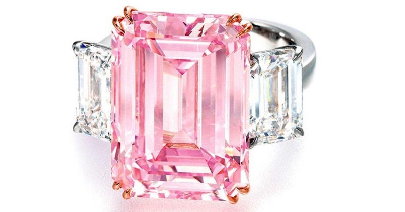 Viên kim cương The Perfect Pink