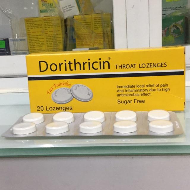 Dorithricin – Viên ngậm giảm đau họng của Đức