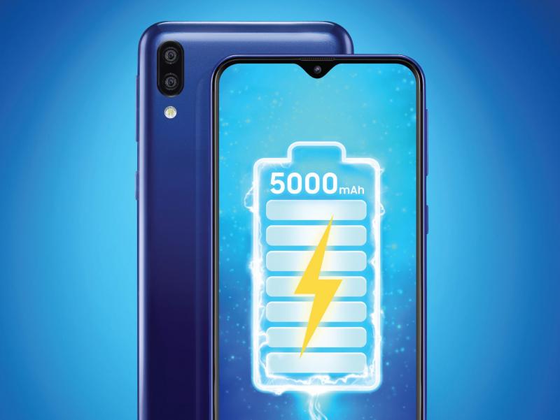 Galaxy M20 có pin dung lượng cao đến 5.000 mAh