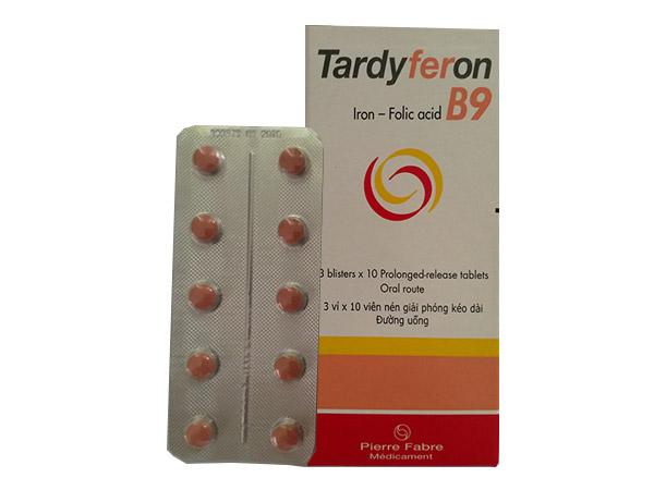 Thuốc Bổ Máu Tardyferon B9