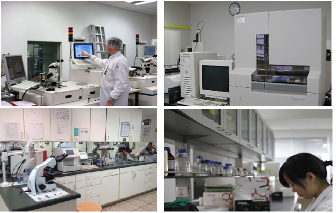 Máy móc hiện đại của Viện sinh học phân tử Loci
