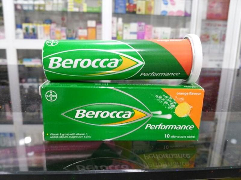 Viên sủi bổ sung Vitamin Berocca Performance