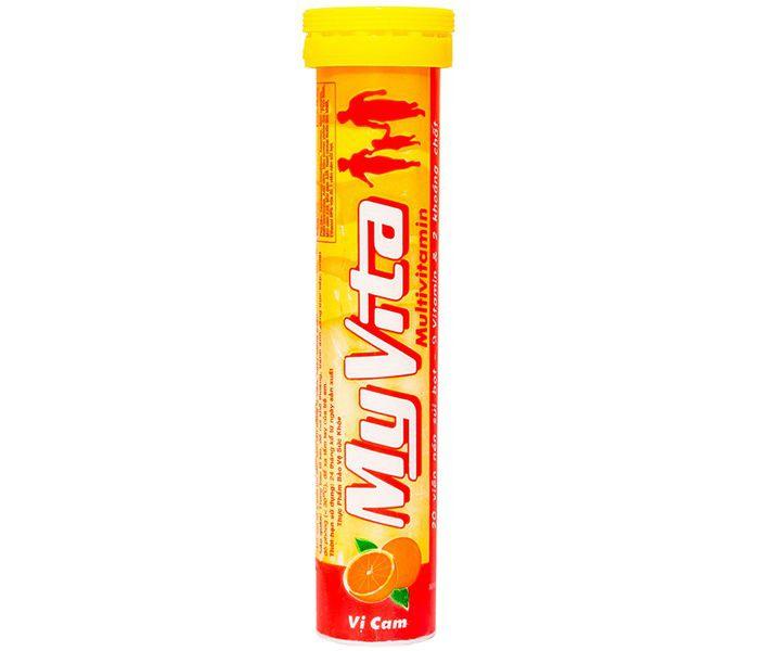 Viên sủi bổ sung Vitamin C Myvita Vitamin C vị Cam