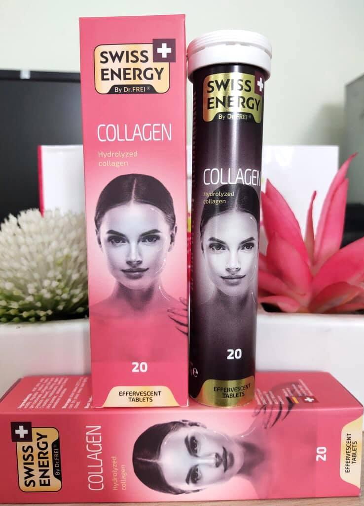 Viên sủi Collagen Swiss Energy