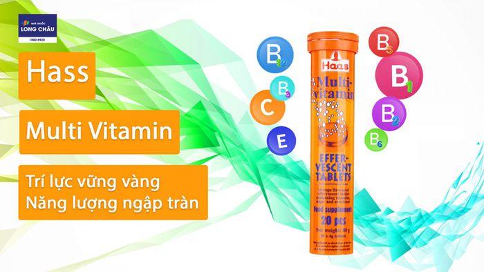 Multi-Vitamin EfferVescent Tablets Haas
