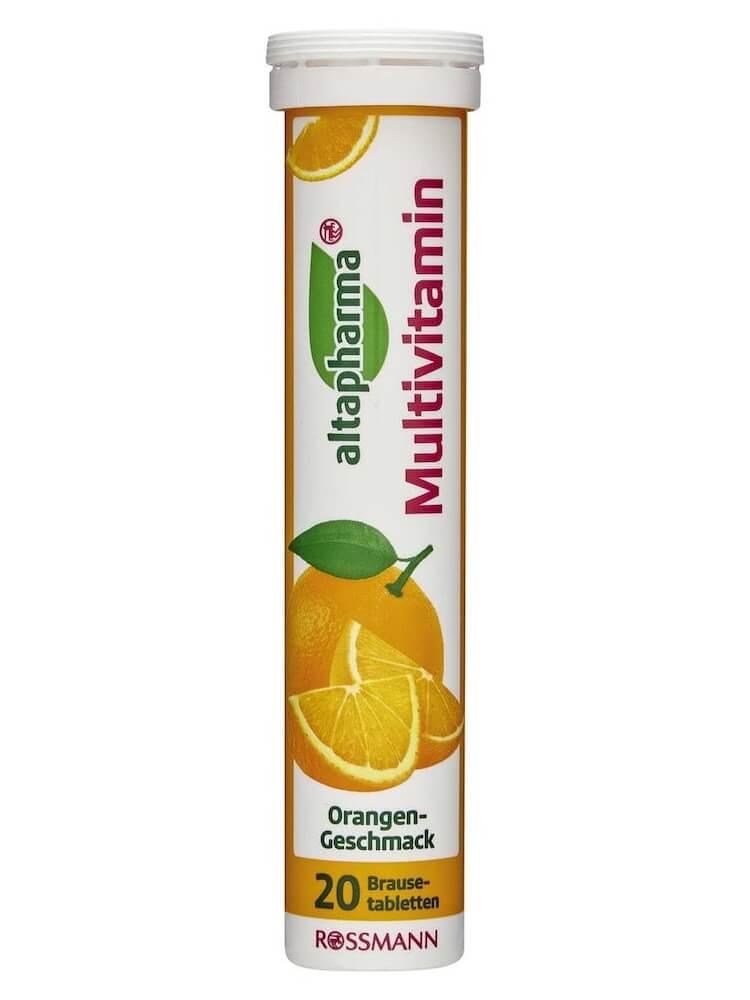 Viên sủi Multivitamin Altapharma