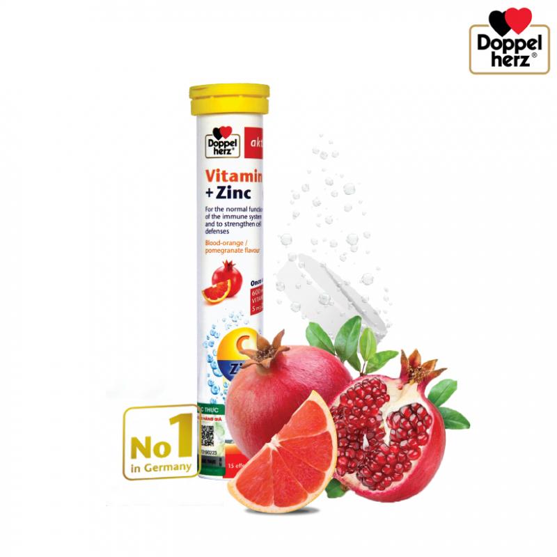Doppelherz Vitamin C + ZinC