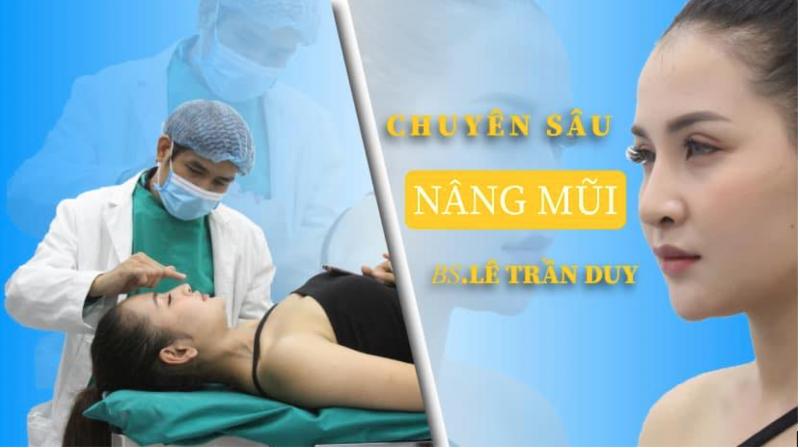 Dịch vụ nâng mũi tại viện thẩm mỹ Dr.Duy