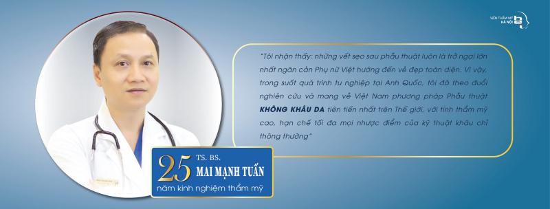 TS.BS Mai Mạnh Tuấn - Viện Thẩm Mỹ Hà Nội