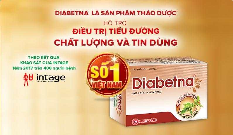 Thực phẩm chức năng Diabetna