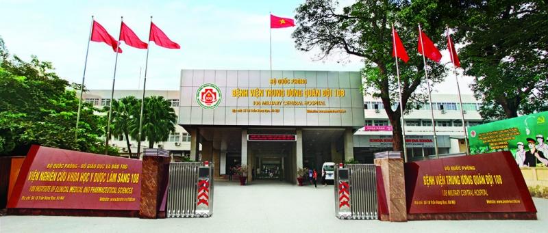 Viện tim - Bệnh viện trung ương quân đội 108