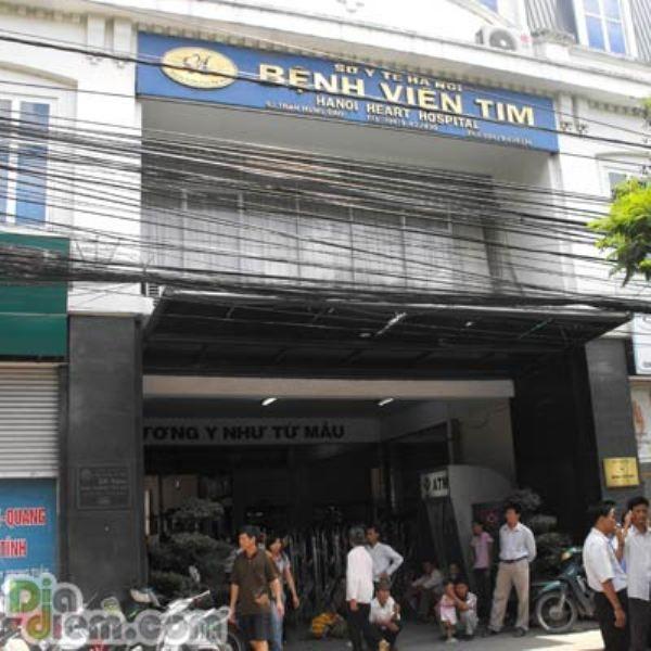 Hình ảnh viện tim Hà Nội