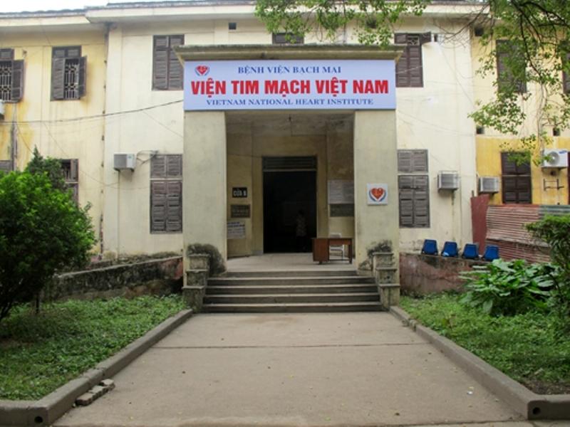 Hình ảnh viện tim mạch Việt Nam