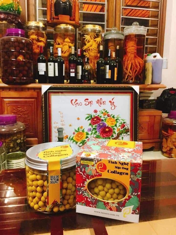 Sản phẩm tinh nghệ mật ong Tanaco