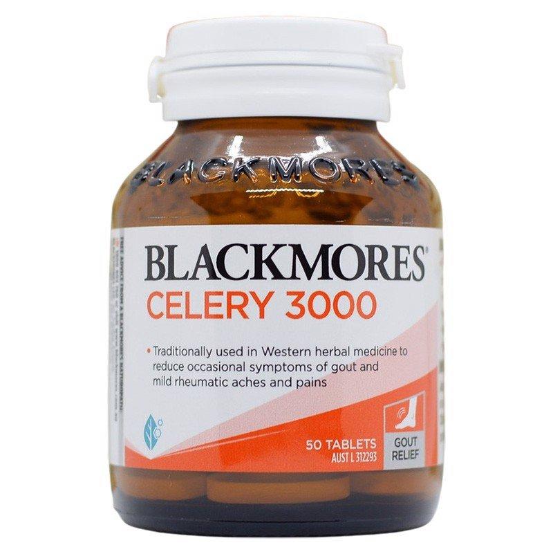 Viên uống phòng và hỗ trợ điều trị Gout - Blackmores Celery
