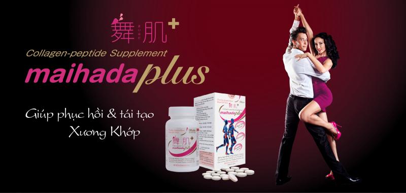 Viên Uống Bổ Khớp Collagen Maihada Plus chứa nhiều dưỡng chất có công dụng giúp cải thiện, tái tạo và nuôi dưỡng sụn khớp như collagen peptide, tinh chất dầu hạt nho, sụn vi cá mập, glucosamine cùng rất nhiều loại vitamin thiết yếu khác giúp bạn có được hệ thống xương khớp chắc khỏe.