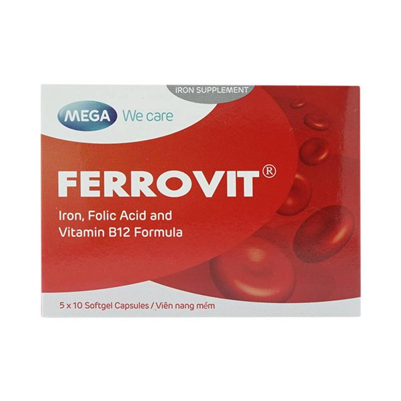 Viên uống bổ máu Ferrovit