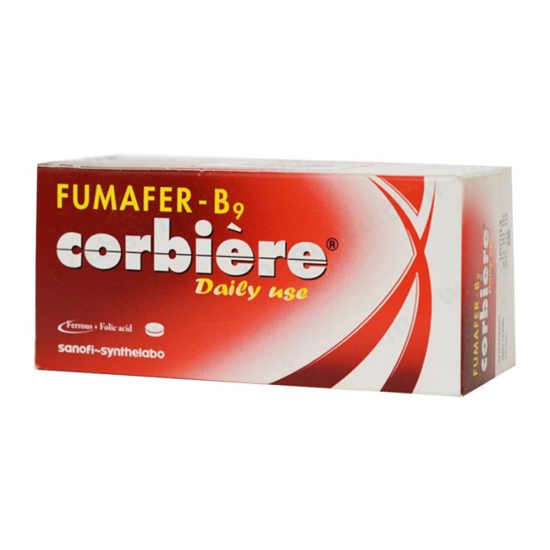 Viên uống bổ máu Fumafer-b9 corbière