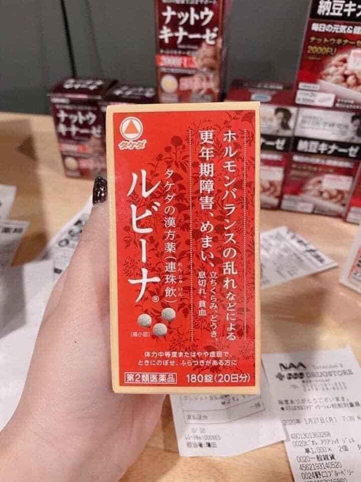Viên uống bổ máu Rubina Nhật Bản
