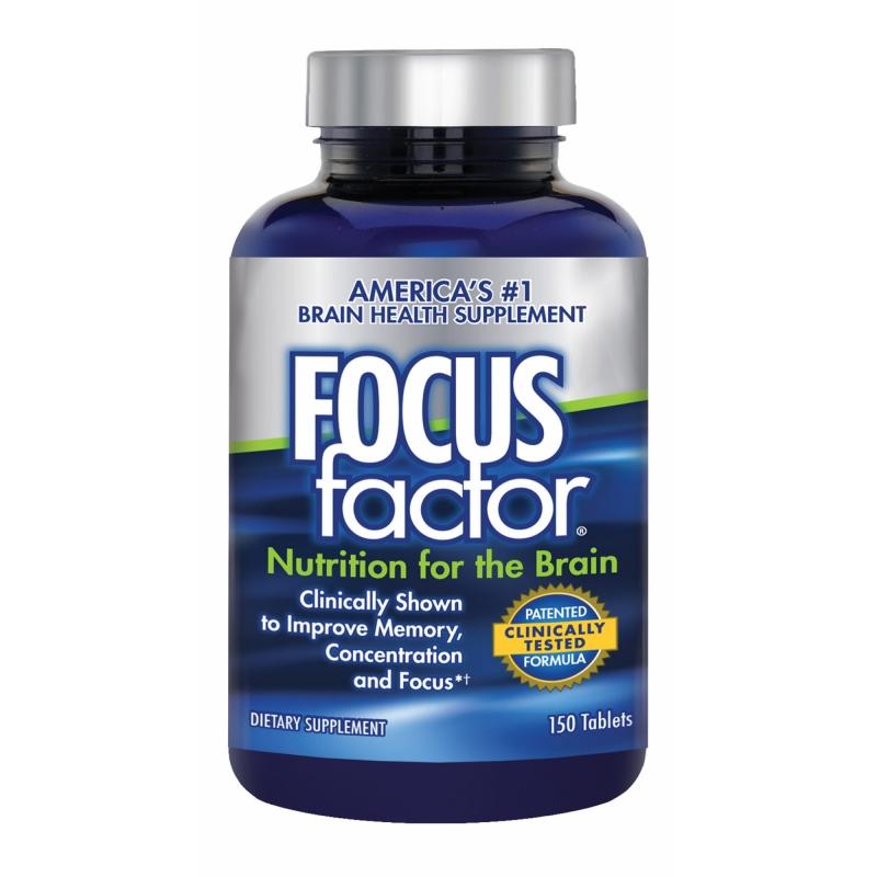 Viên uống bổ não Focus Factor 150 viên của Mỹ