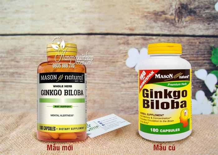 Thực phẩm chức năng Viên Uống Bổ Não Ginkgo Biloba 500mg Hộp 180 Viên: