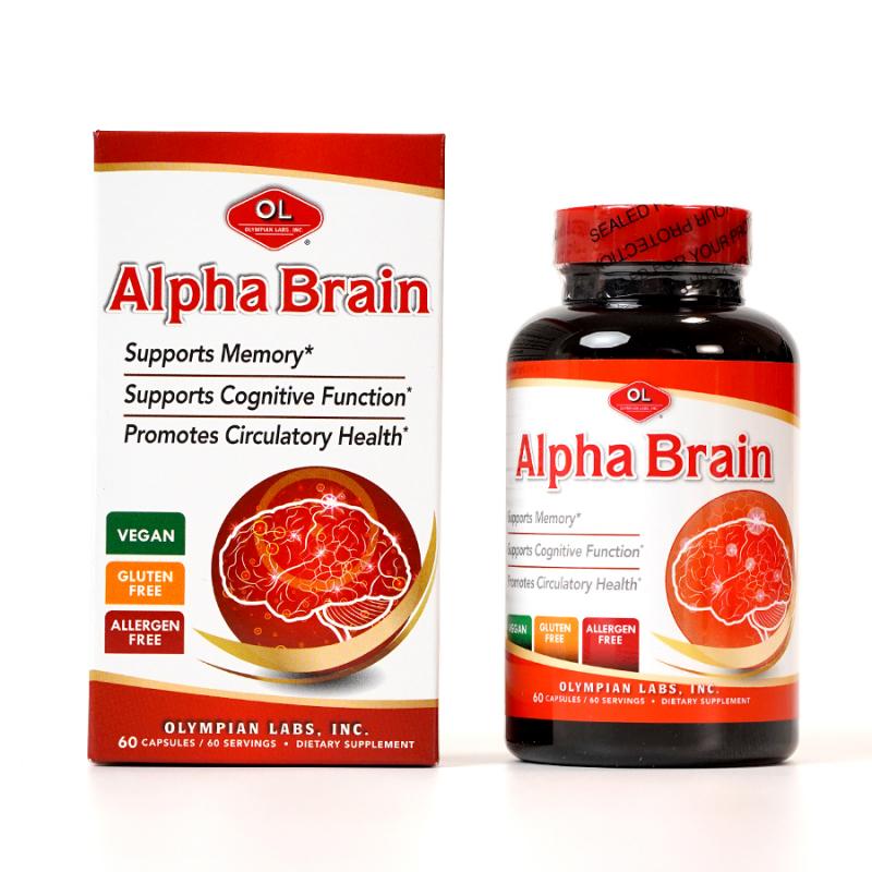 Viên Uống Bổ Não Olympian Labs Alpha Brain